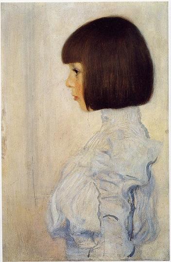 「ヘレーネ・クリムトの肖像」(1898年)グスタフ・クリムト
