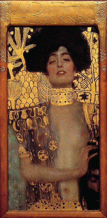 「ユディト Ⅰ」(1901年)グスタフ・クリムト