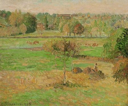 「エラニーの秋」(1895年)カミーユ・ピサロ