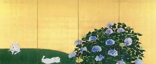 「翠苔緑芝」(1928年)速水御舟