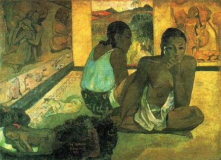 「テ・レリオア」(1897年)ポール・ゴーガン