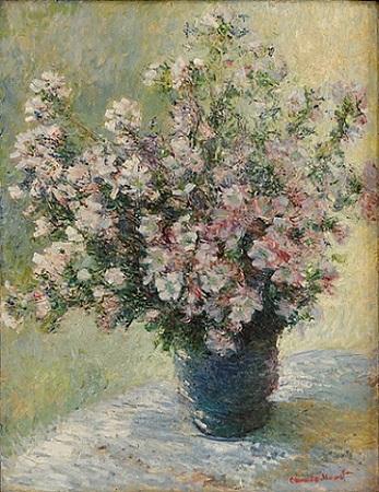 「花瓶」(1881年着手)クロード・モネ