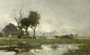 「秋の風景」ヨハン・ヘンドリク・ワイセンブルッホ