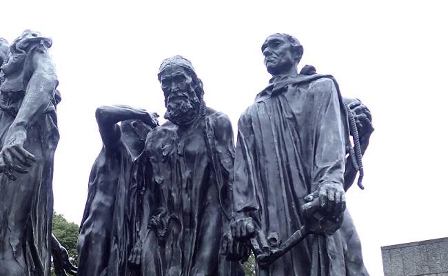 「カレーの市民(Burghers of Calais) …国立西洋美術館にて」