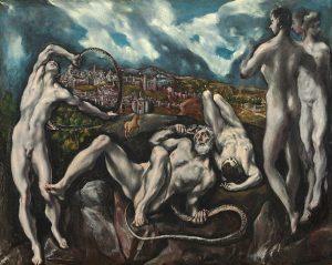 「ラオコーン」(1610‐1614年頃)エル・グレコ