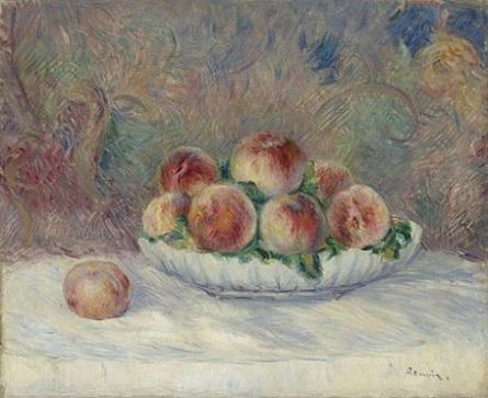 「桃」(1881-1882年頃)オーギュスト・ルノワール