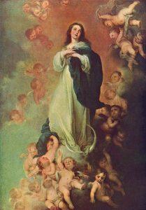 「無原罪の御宿り」(1678年)バルトロメ・エステバン・ムリーリョ