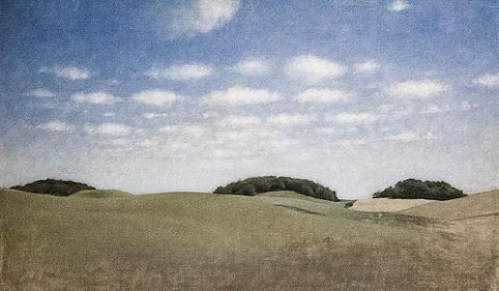 「ライラの風景」(1905年)ヴィルヘルム・ハマスホイ
