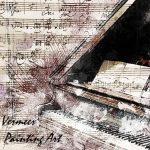 絵画と楽器
