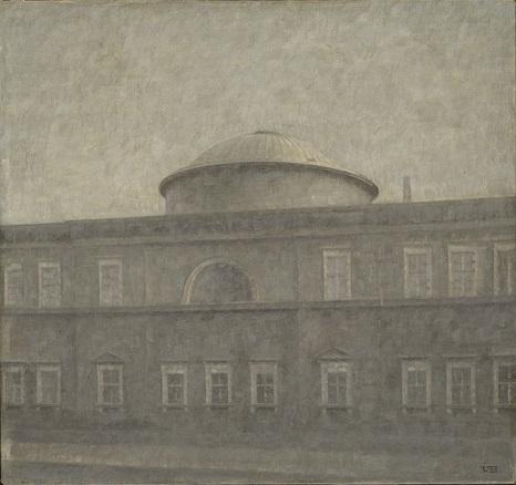 「クレスチャンスボー宮廷礼拝堂」(1910年)ヴィルヘルム・ハマスホイ