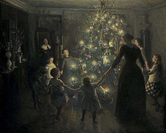 「きよしこの夜」(1891年)ヴィゴ・ヨハンスン