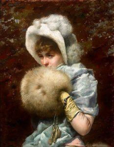 「1882年の冬」(1882年)フランセスク・マスリエラ