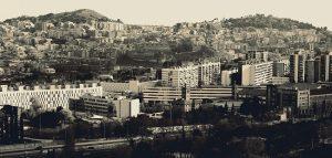 バルセロナの街