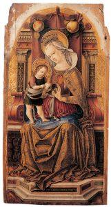「聖母子」(1476年頃)カルロ・クリヴェッリ