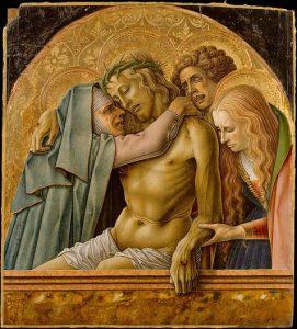 「ピエタ」(1476年)カルロ・クリヴェッリ