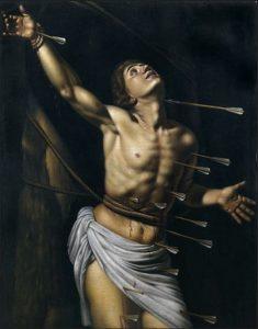 「聖セバスティアヌス」(1613年)ルイ・フィンソン