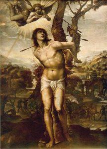 「聖セバスティアヌス」(1525年)ソドマ
