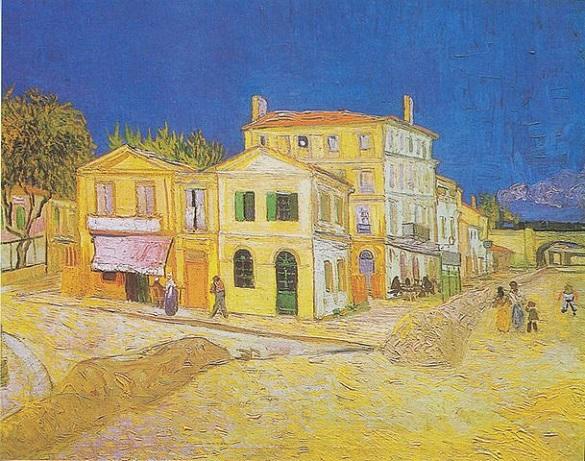 「黄色い家」(1888年)ファン・ゴッホ
