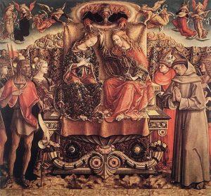 「聖母の戴冠」(1493年)カルロ・クリヴェッリ