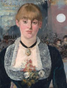 「フォリー=ベルジェールのバー(detail)」(1882年)エドゥアール・マネ