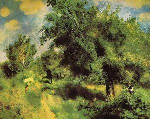 「イギリス種の梨の木」(1873年)ピエール=オーギュスト・ルノワール