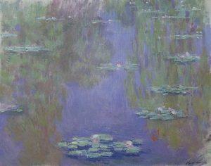 「睡蓮」(1903年)クロード・モネ