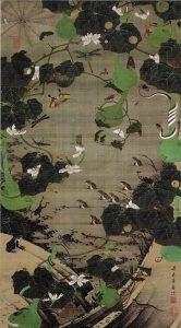 「池辺群虫図(動植綵絵)」(1761‐1765年頃)伊藤若冲