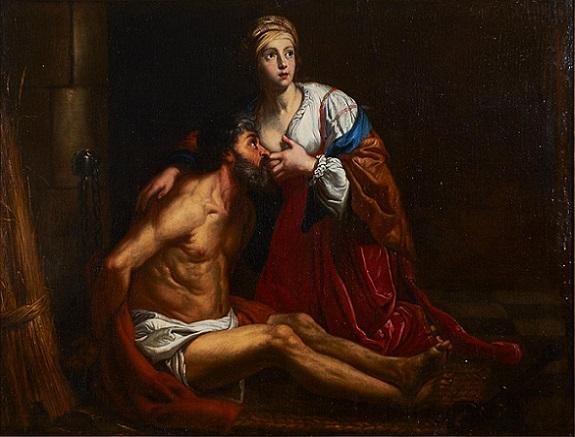 「Roman Charity」(1645年頃)ガスパール=ド=クレイエル