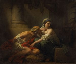 「Roman Charity」(1782年頃)ルイ=ジャン=フランソワ・ラグルネ
