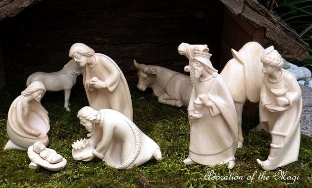 キリストの誕生と東方三博士