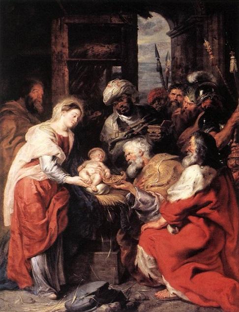 「東方三博士の礼拝」(1626‐1629年)ピーテル・パウル・ルーベンス