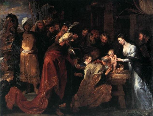「東方三博士の礼拝」(1617-1618年)ピーテル・パウル・ルーベンス