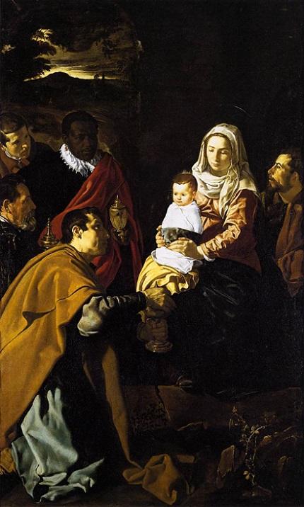 「東方三博士の礼拝」(1619年)ディエゴ・ベラスケス