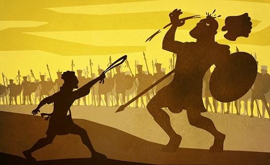 ダビデとゴリアテ(David and Goliath)