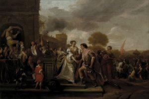 「ダビデの勝利からの帰還」(1671年)ヤン・ステーン