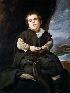 「バリェーカスの少年」(1635-1645年)ディエゴ・ベラスケス