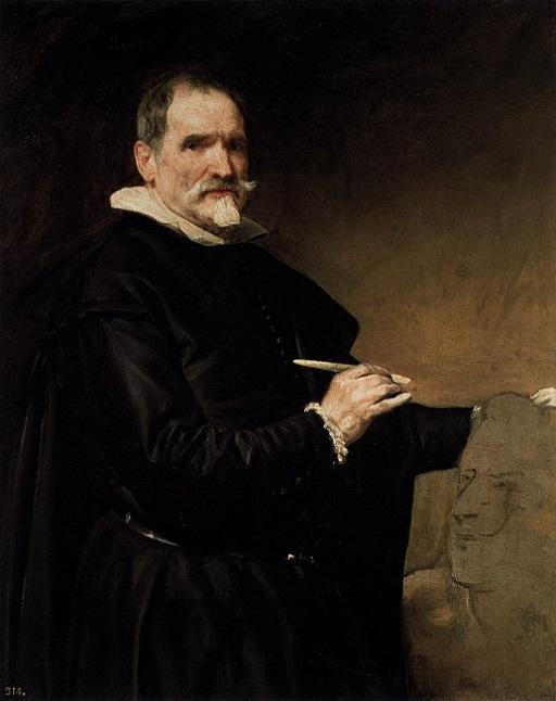 「フアン・マルティネス・モンタニェースの肖像」(1635年頃)ディエゴ・ベラスケス