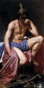 「マルス」(1638年頃)ディエゴ・ベラスケス