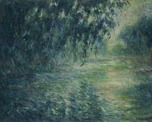 「セーヌ河の朝」(1898年)クロード・モネ