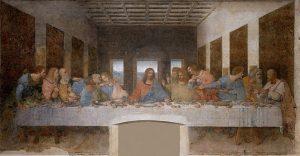 「最後の晩餐」(1495‐1498年)レオナルド・ダ・ヴィンチ