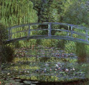 「睡蓮の池」(1899年)クロード・モネ