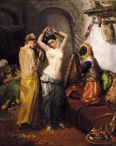 「オリエントの室内」(1850‐1852年)テオドール・シャセリオー
