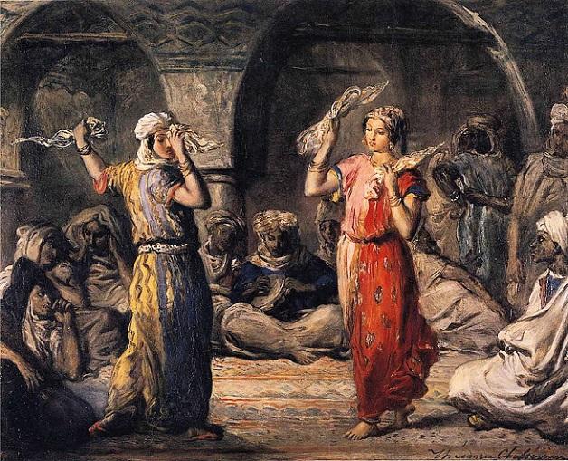「スカーフを使った踊り」(1849年)テオドール・シャセリオー