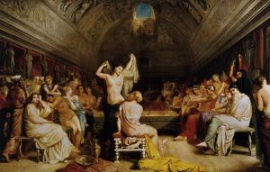 「テピダリウム」(1853年)テオドール・シャセリオー