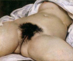 「世界の起源」(1866年)ギュスターヴ・クールベ