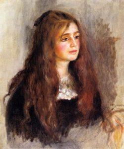 「ジュリー・マネの肖像」(1894年)ピエール=オーギュスト・ルノワール