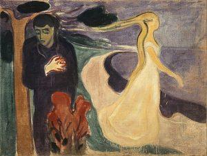 「別離」(1896年)エドヴァルド・ムンク