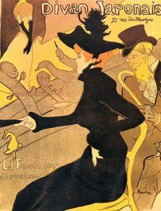 「ディヴァン・ジャポネ」(1893年)アンリ・ド・トゥールーズ=ロートレック