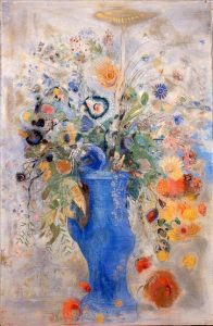 「グラン・ブーケ(大きな花束)」(1901年)オディロン・ルドン