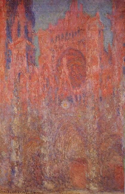 「ルーアン大聖堂」(1892年)クロード・モネ